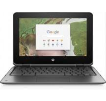 "PORTATIL HP CHROMEBOOK X360 G1 N3350 8GB 32GB 11.6"" TACTIL Chrome OS"