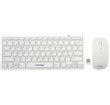 TECLADO Y RATON WIRELESS PRIMUX CW100 SLIM