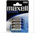 PILA MAXELL LR03 AAA MN2400 ALKALINE 4UNIDADE