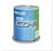CD-R 700MB MAXELL 52X M.USO PACK 50UNI TARRIN