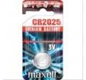 PILA MAXELL CR2025 3V LITHIUM BATTERY