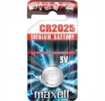 PILA MAXELL CR2025 3V LITHIUM BATTERY