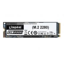 SSD M2 2280 1TB KINGSTON KC2000 NVMe PCIE3.0x4 R3000/W2200 MB/s