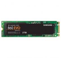 SSD M.2 2280 2TB SAMSUNG SSD 860 EVO R550/W520 MB/s