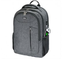 "MOCHILA E-VITTA POWER BACKPACK 15.4""-17 GRIS·"